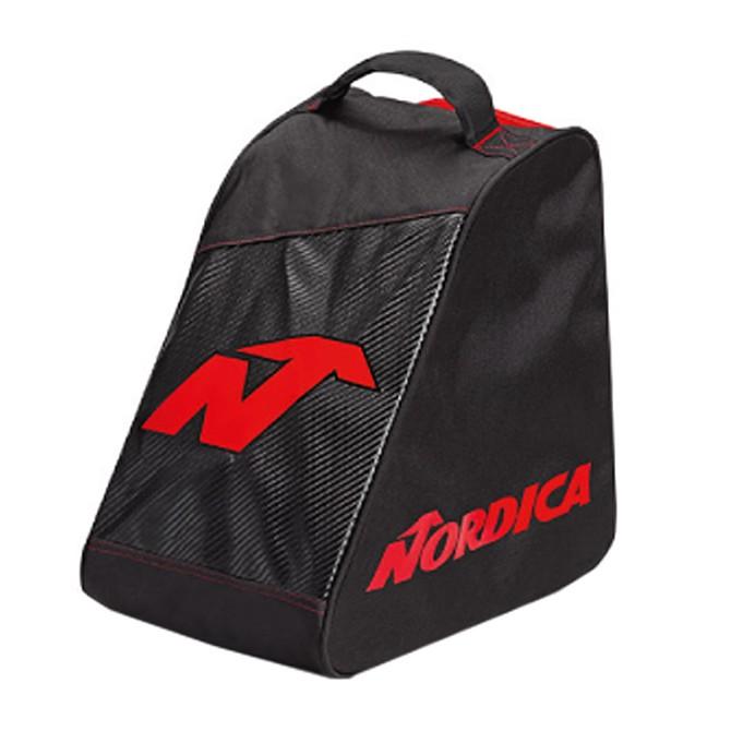Borsa portascarponi Nordica promo nero-rosso