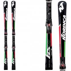 Esquí Nordica Dobermann Gsr Rb Evo + fijaciones NPro X-Cell Evo