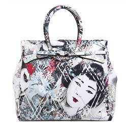 Borsa Save My Bag Miss weekender Geisha
