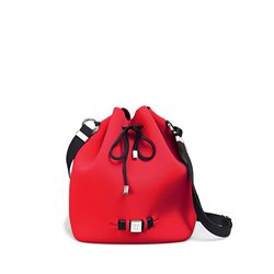 Cubo Save My Bag Bubble rojo