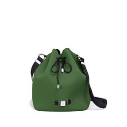 Cubo Save My Bag Bubble verde oscuro