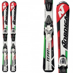 Ski Nordica Team J Race FSTK + bindings M 4.5 FSTK II
