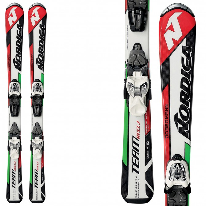 Sci Nordica Team J Race FSTK + attacchi M 4.5 FSTK II NORDICA