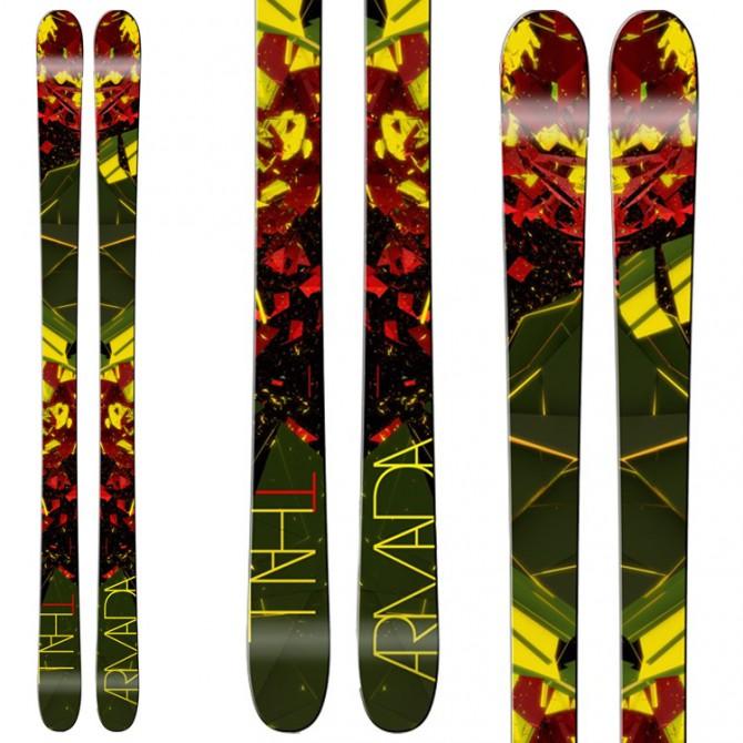 Ski Armada Thall + Bindings Lx 12