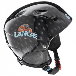 ski helmet Lange Team Junior black