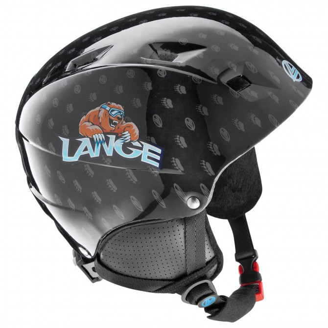 casco sci Lange Team Junior nero