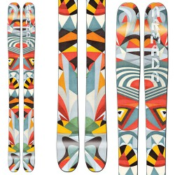 Ski Armada Tst W + bindings Attack Demo 13