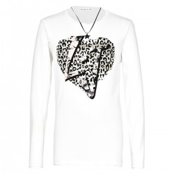 t-shirt Liu-Jo Leopard Girl