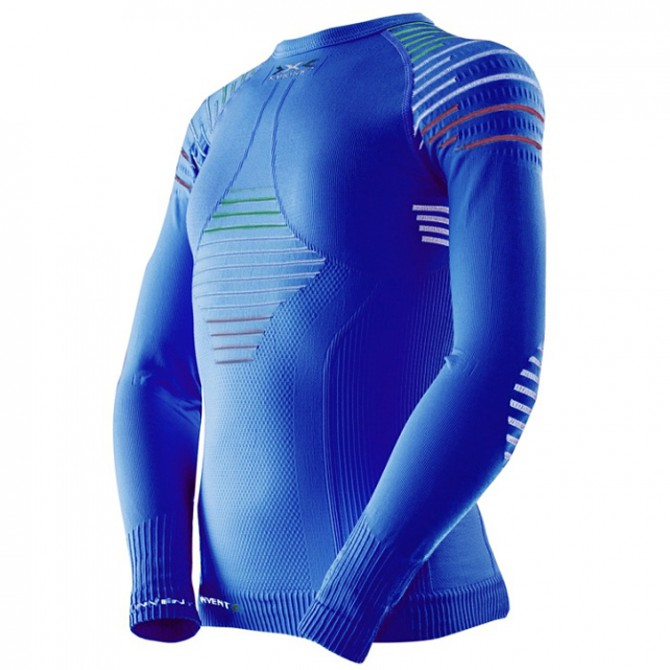 Maglia intimo X-Bionic Invent Italia-blu