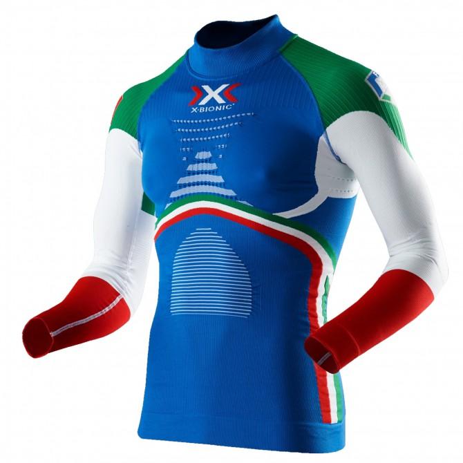 Jersey lingerie X-Bionic Energy Accumulator Evo Fisi Italia Homme