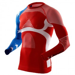 Jersey lingerie X-Bionic Energy Accumulator Evo Patriot Edition Homme