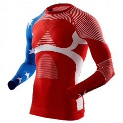 Maglia intima X-Bionic Energy Accumulator Evo Patriot Edition Uomo