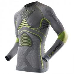 Maglia intimo X-Bionic Radiactor Evo grigio-giallo