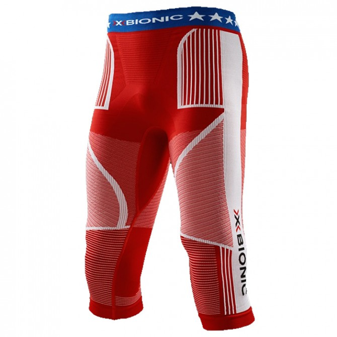 Collants 3/4 X-Bionic Energy Accumulator Evo Patriot Edition Homme