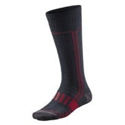 Ski socks Mizuno Breath Thermo black-red