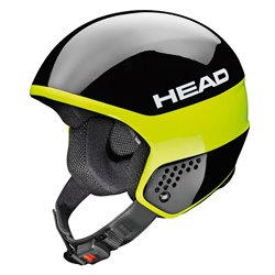 Casco sci Head Stivot Race Youth Carbon nero-lime