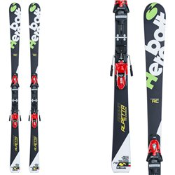 Sci Bottero Ski Grand Alpetta Rc + piastra Vist Wc + attacchi Tyrolia Race 16 nero-verde