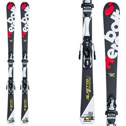 Sci Bottero Ski Alpetta 2 + piastra Vist Wc Caso Air + attacchi Tyrolia Lx 12