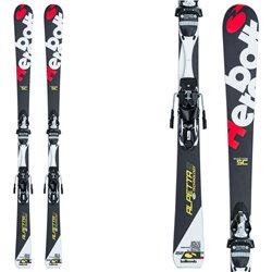 Sci Bottero Ski Alpetta Sc + piastra Caso + attacchi Lx 12 nero-rosso