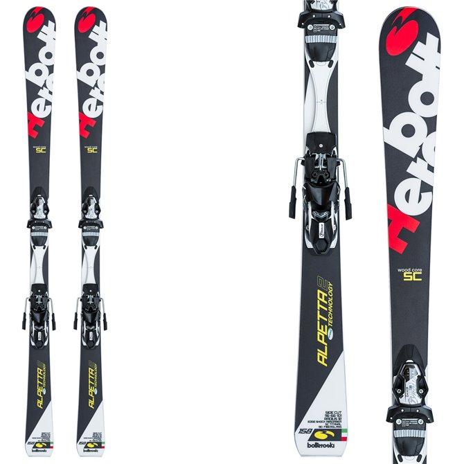 Sci Bottero Ski Alpetta 2 + piastra Vist Wc Caso Air + attacchi Tyrolia Lx 12 BOTTERO SKI Race carve - sl - gs