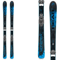 Esquí Head Monster 83 Ti + fijaciones Attack 13 br 95
