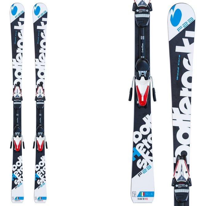 Ski Bottero Ski F23 + plaque Lite Ral + fixations Tyrolia LR 10