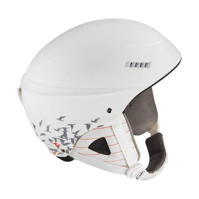 casco sci Rossignol Toxic 2.0 W Glory bianco