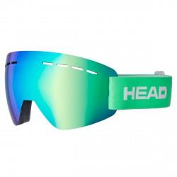 Ski goggles Head Solar FMR green