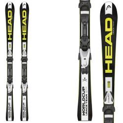 Esquí Head WC iRace Team + fijaciones Lrx 7.5 Ac Br 78