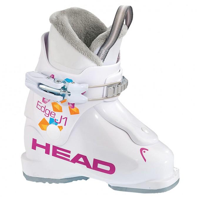 Scarponi sci Head Edge J1 bianco-rosa HEAD Scarponi junior