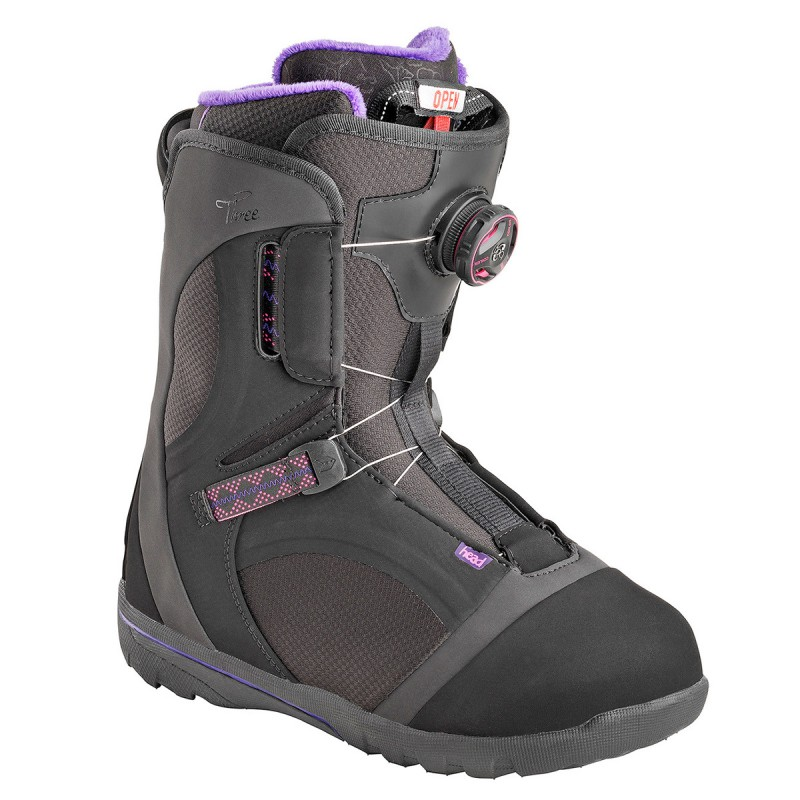 Scarpe snowboard Head Three Boa Donna