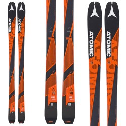 Mountaineering ski Backland UL 78
