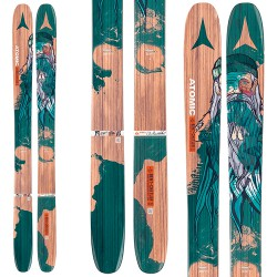 Mountaineering ski Atomic Backland Bent Chelter + bindings Warden Mnc 13 demo