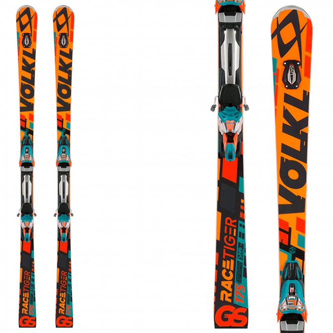 Sci Volkl Racetiger SW GS R + attacchi Race Xcell 12