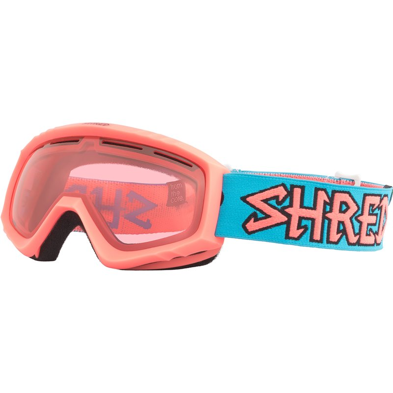 Maschera sci Shred Mini Junior corallo