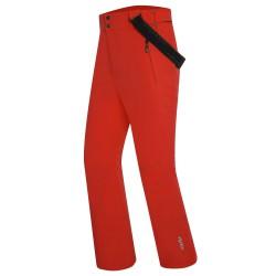Pantalone sci Zero Rh+ Logic Evo Uomo rosso