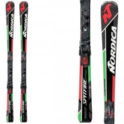 Esquí Nordica Dobermann Spitfire Pro Evo + fijaciones N Pro Evo P.R. Evo