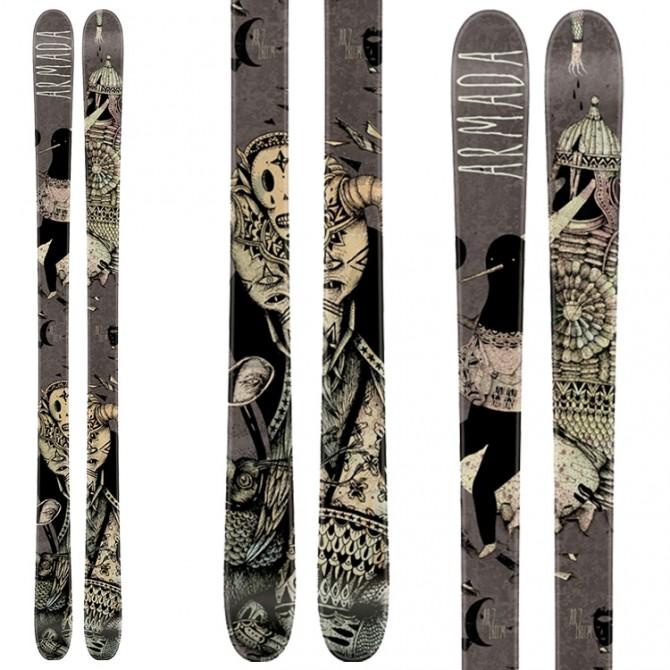 Ski Armada Ar7 + Bindings Lx 12