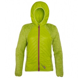 Chaqueta montañismo Rock Experience Softy Mujer lime