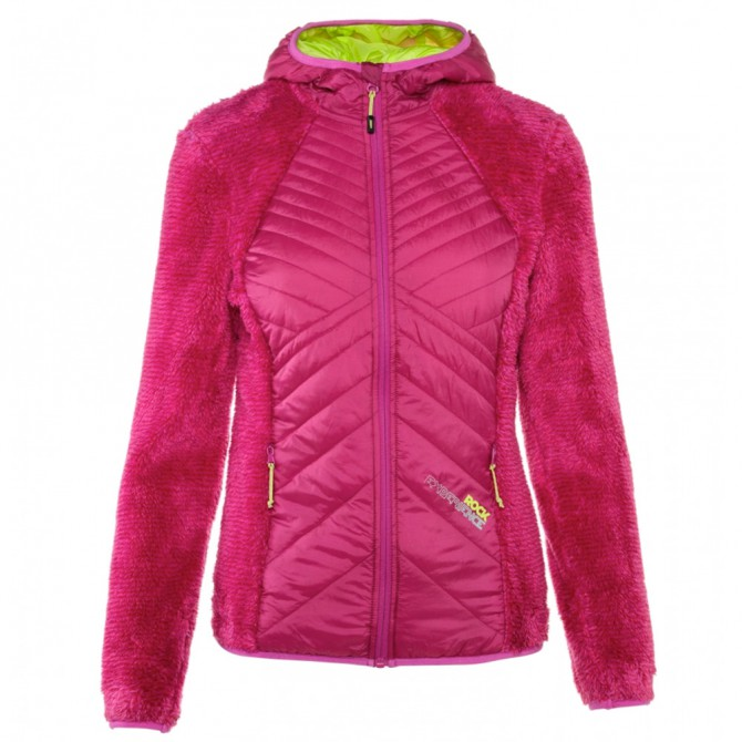 Giacca trekking Rock Experience Softy Donna fucsia