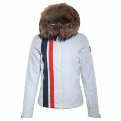 Ski jacket Rossignol Spheric Woman white