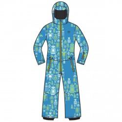 Conjunto esquí Rossignol Mini Baby azul-lime