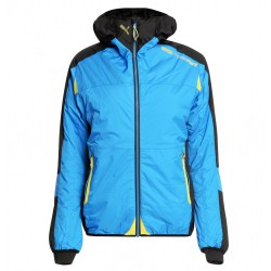 Mountaineering jacket Rock Experience Eclipse Woman light blue-grey