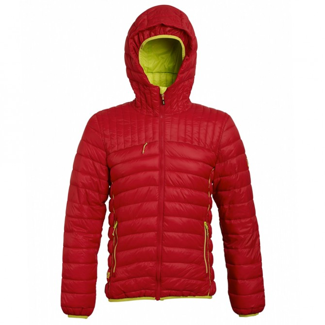 Giacca Rock Experience New Man rosso-lime