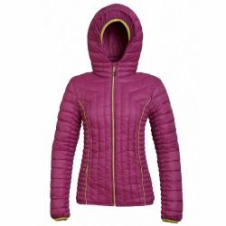 Mountaineering jacket Rock Experience Manaslu Woman fuchsia