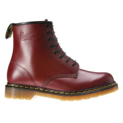 Botas Dr Martens 1460 Smooth Mujer bordeaux