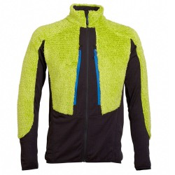 Fleece Rock Experience Crest Man lime