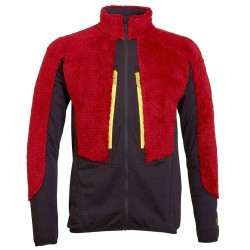 Fleece Rock Experience Crest Man red