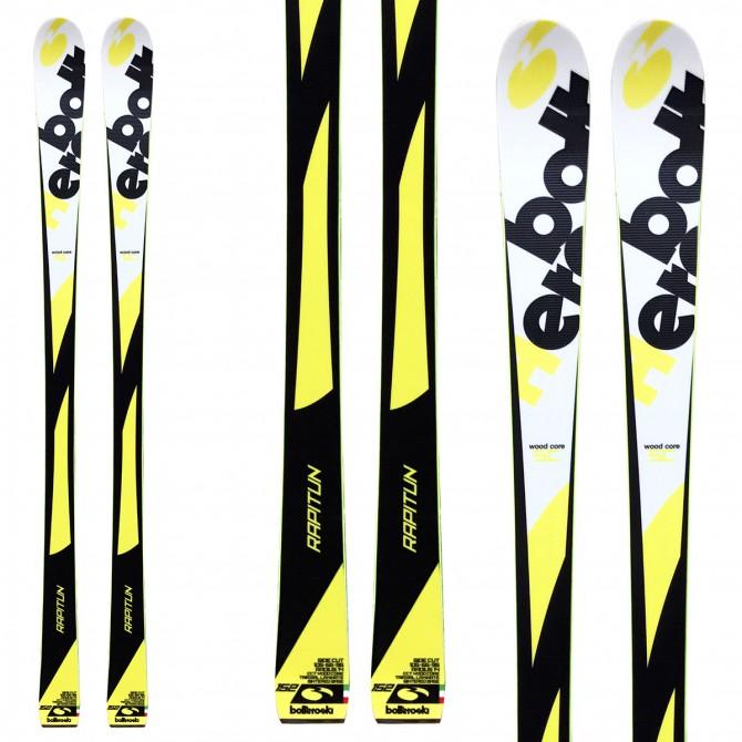 Ski Bottero Ski Rapitun + bindings Lrx 9 + plate Lrx