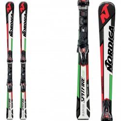 Esquí Nordica Dobermann Spitfire Rb Evo + fijaciones Npro Xcell Evo
